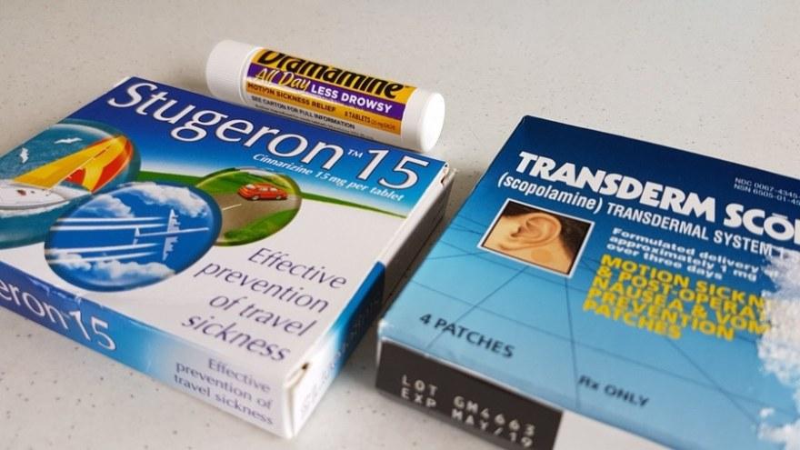Antarctica packing list sea sickness