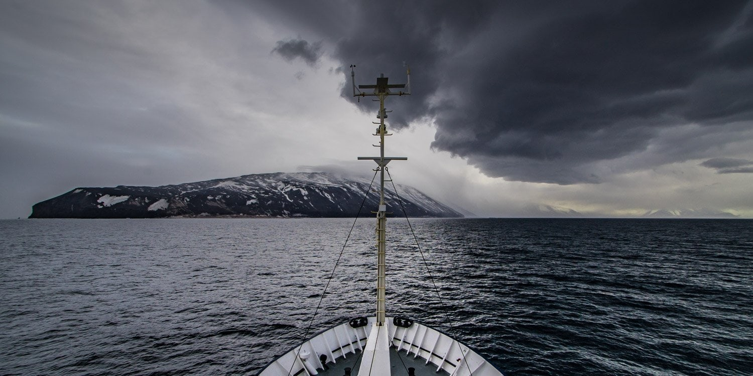 Ross Sea Storms