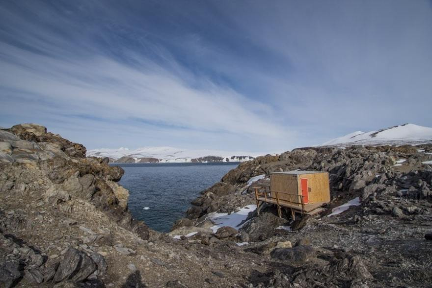 best sauna in antarctica