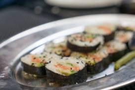 Cooking at sea sushi