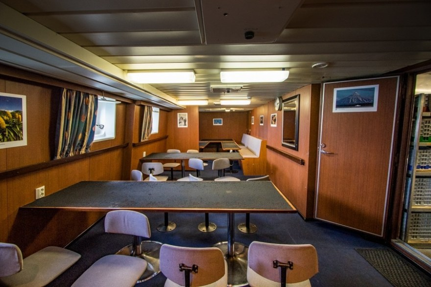 Dining Room on the spirit of enderby