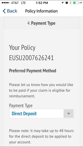 travel insurance claim process