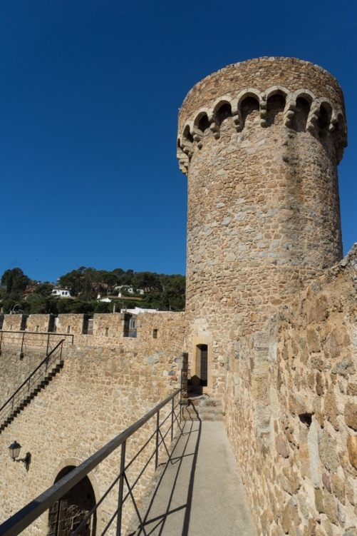 Tossa de Mar Medieval town photo walk