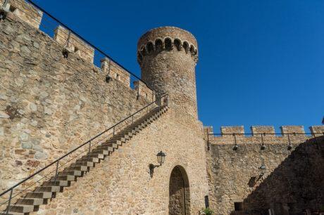 Tossa de Mar medieval city