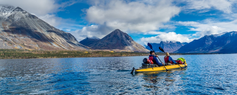 Twin Lakes Alaska kayak