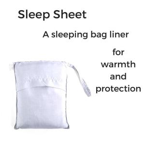 hiking and camping sleeping bag liner