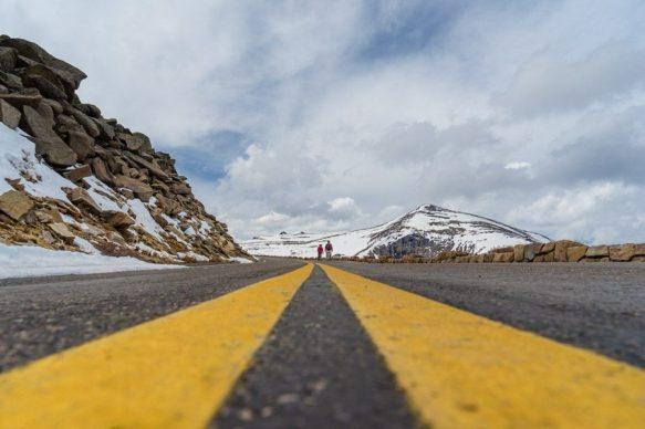 Walk on Trail Ridge Road