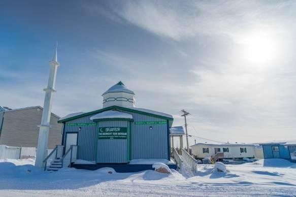 Inuvik Canadian Arctic Mosque