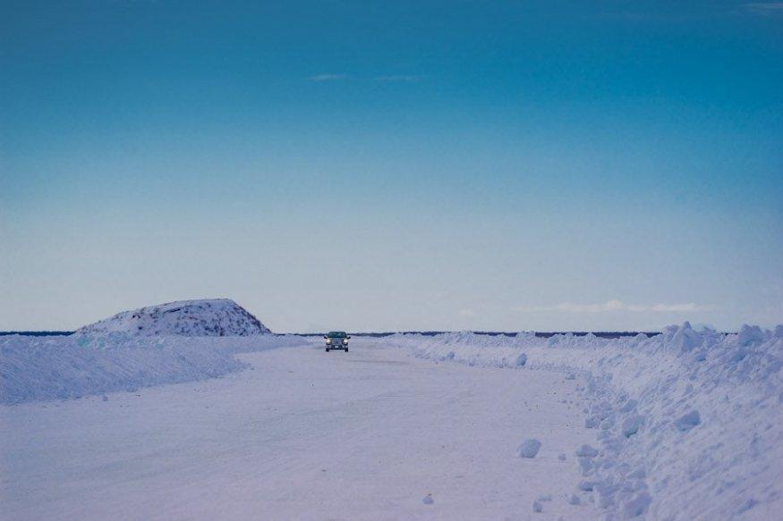 ice road arctic adventure inuvik