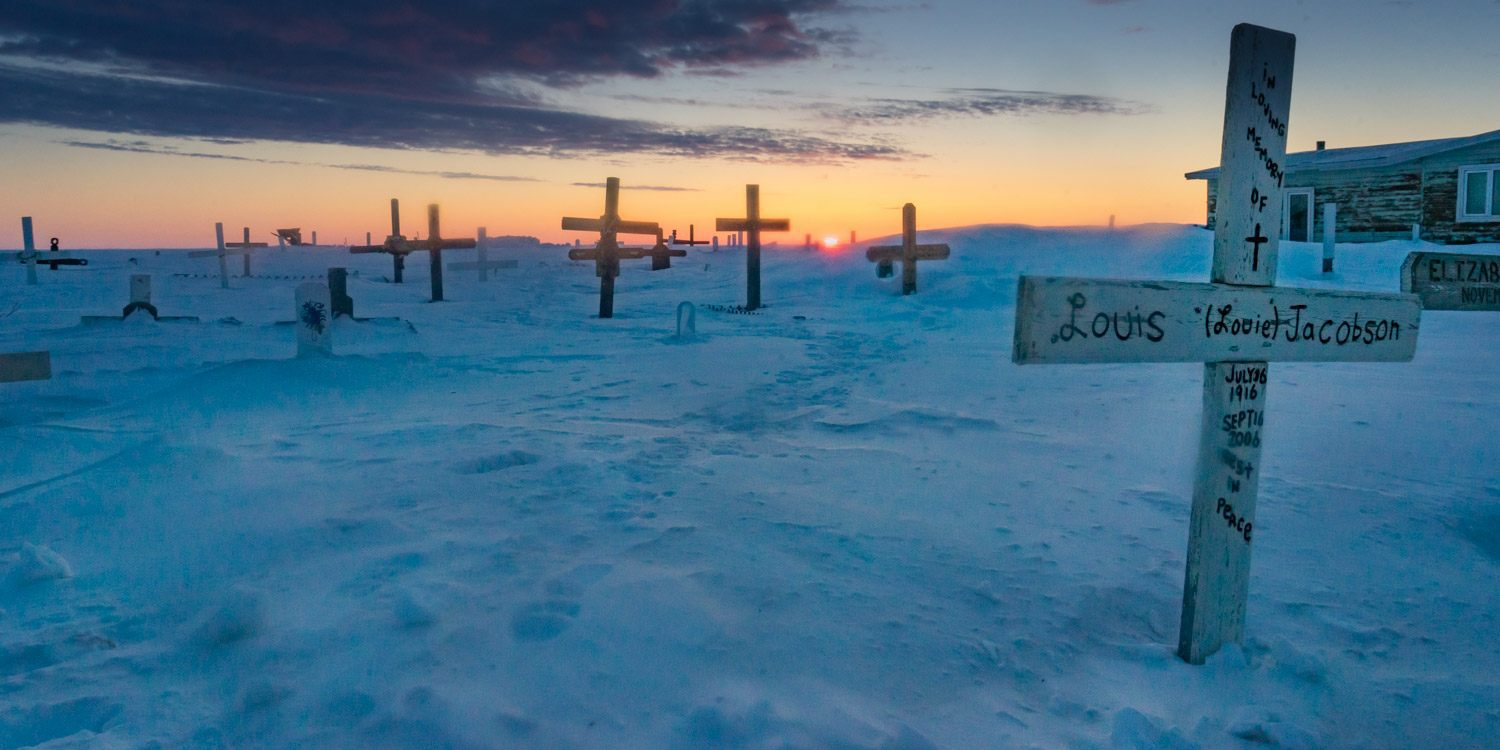 Things to do in Tuktoyaktuk Cemetery
