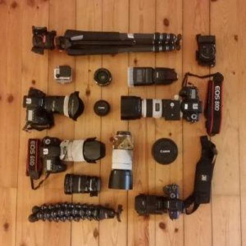 travel blogging gear