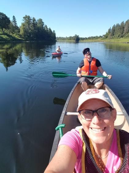 Miramichi river canoeing