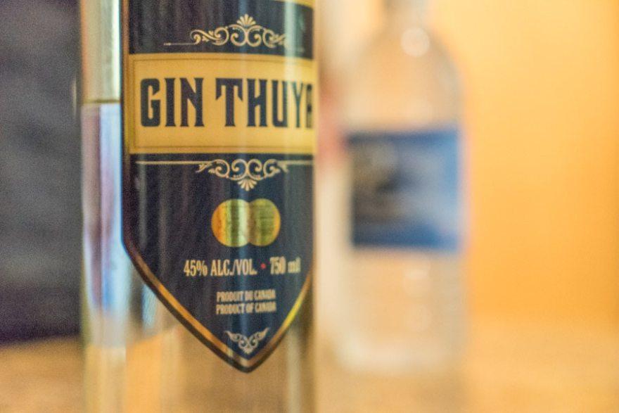 distillerie fils du roy gin thuya