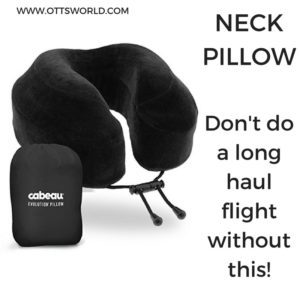 travel gift ideas neck pillow