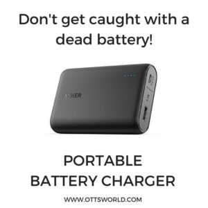 travel battery charger gift idea