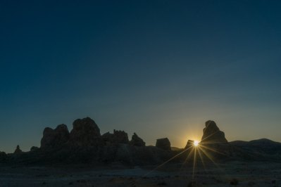 California Trona pinnacles stargazing