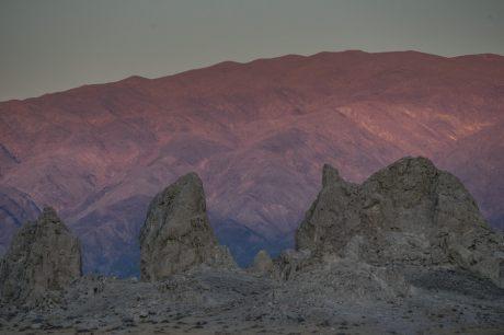 California Trona pinnacles stargazing