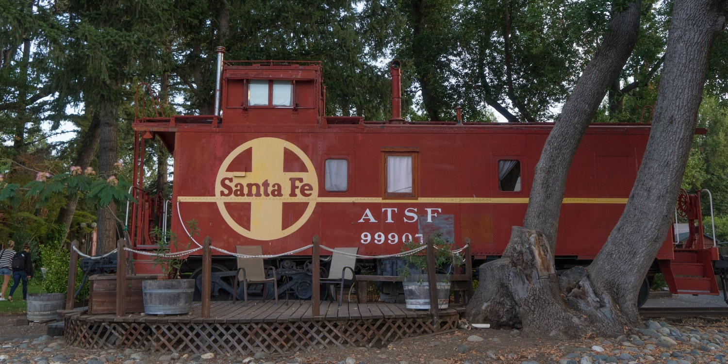 Train hotel northern california
