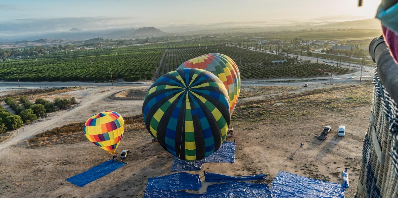 hot air balloon southern california temecula