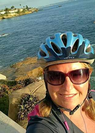 first biking tour