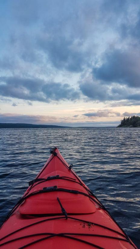 Cape Breton kayak adventure