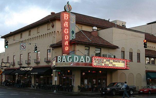 weekend in portland Bagdad Theatre