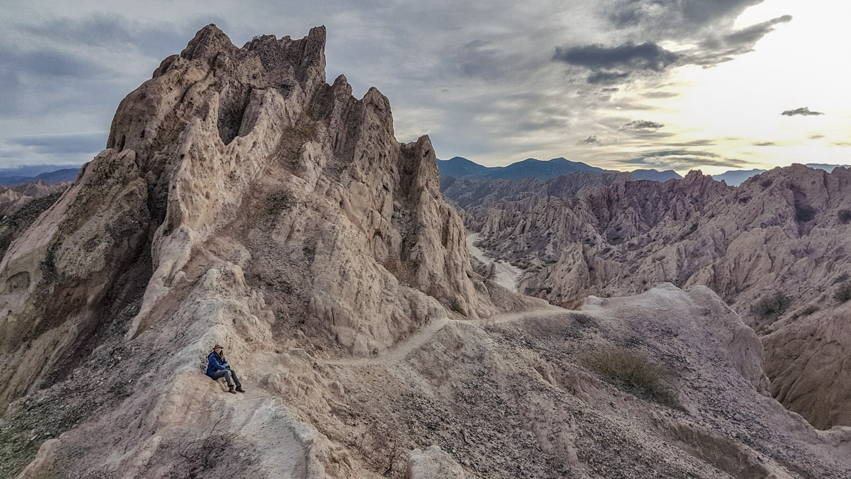 Quebrada de las Flechas northern argentina