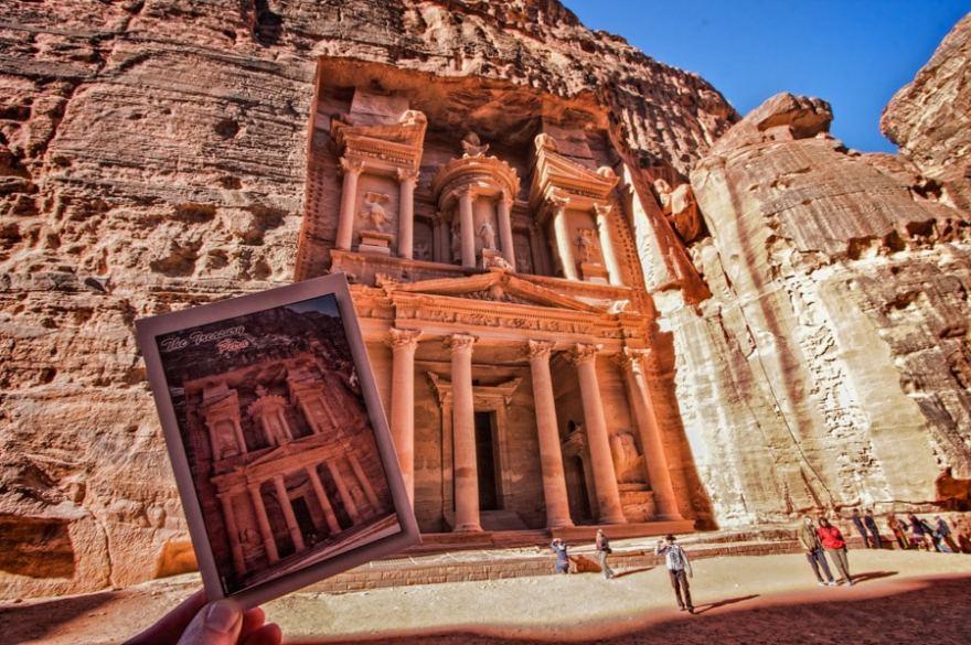 postcard tradition petra