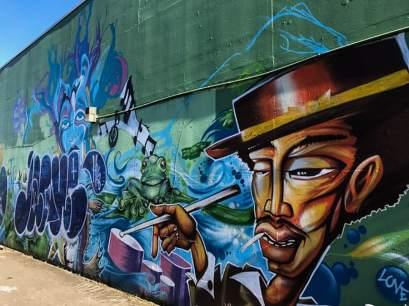 weekend in portland street art