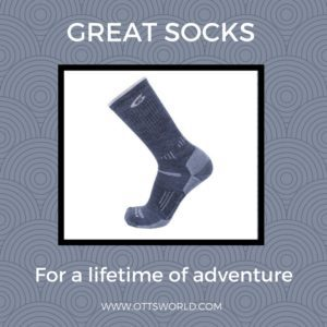 Alaska packing list point6 wool socks