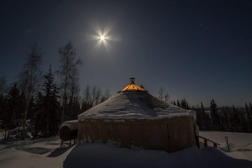 A Taste of Alaska Lodge Yurt