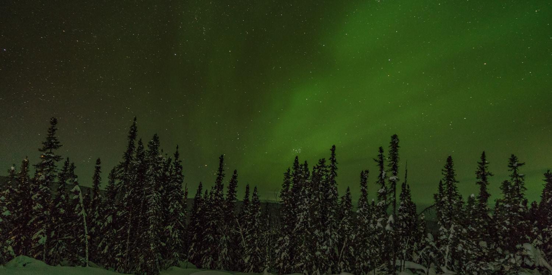 northern lights trip Fairbanks Alaska