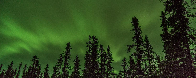northern lights trip alaska
