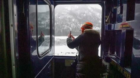 Alaska Train trips winter