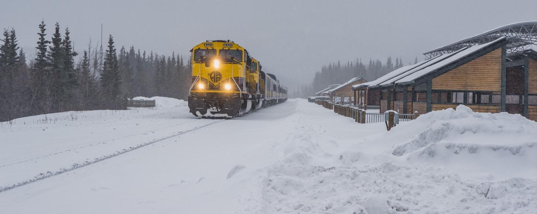 Alaska train trips