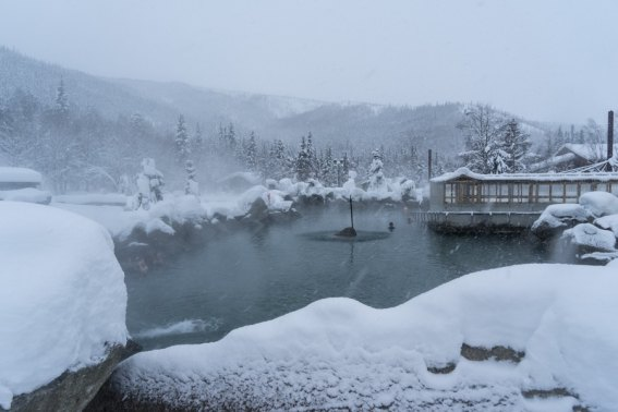 Fairbanks Alaska Winter Chena hot springs