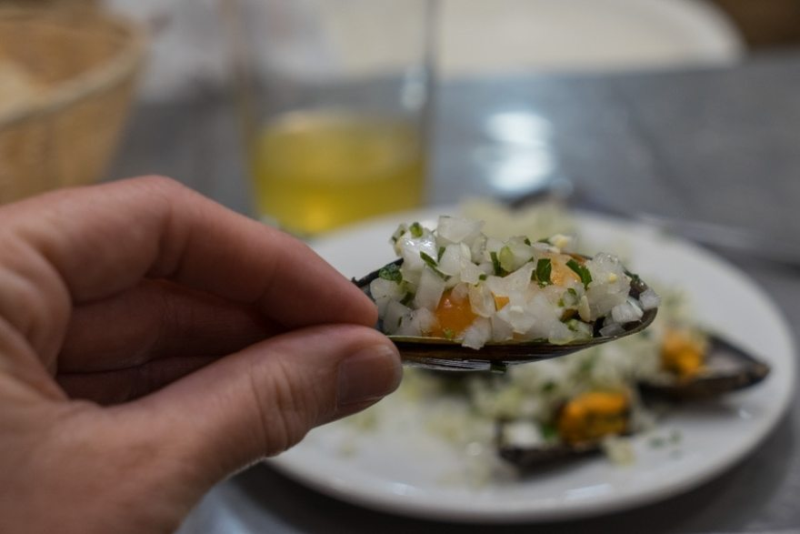 seafood pintxos