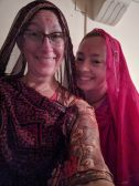 Erin and me in traditional dress