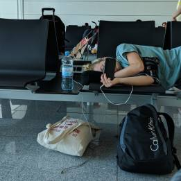 Traveling with teenagers