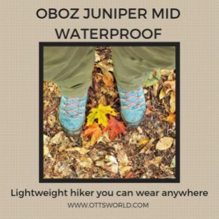 oboz juniper hiking boots