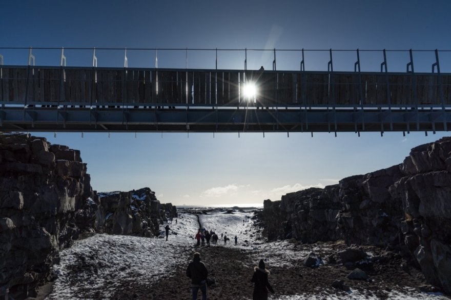 bridge between continents iceland stopover