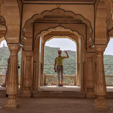 teenager travel india