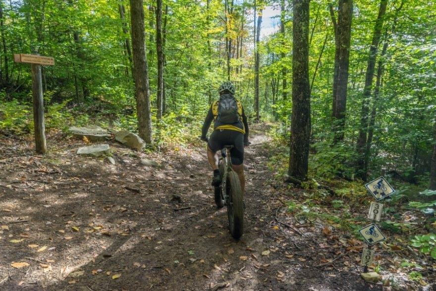 maine huts and trails biking
