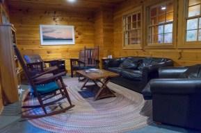 maine huts interior