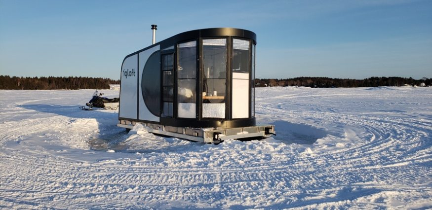 igloft quebec winter lodging