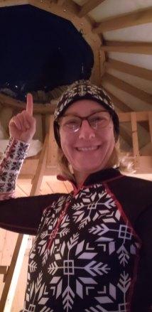 yurt glamping quebec winter