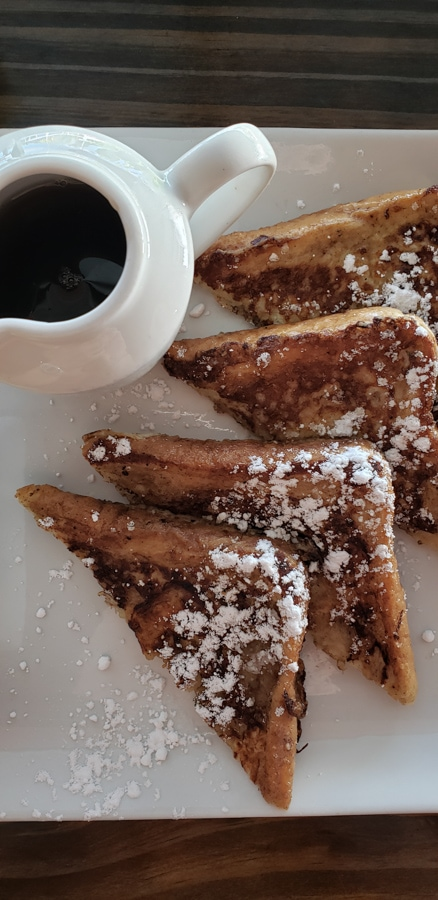 saba spice french toast