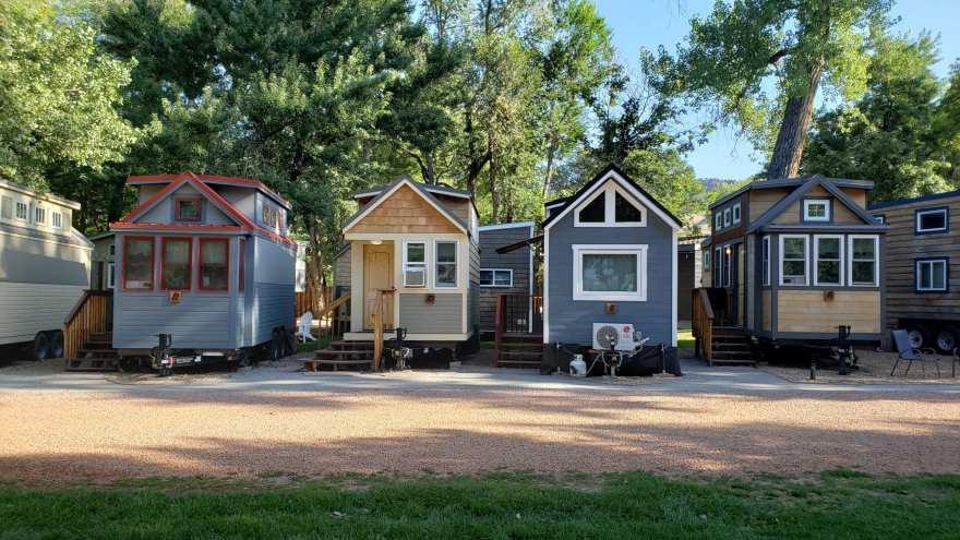 tiny home resort Colorado
