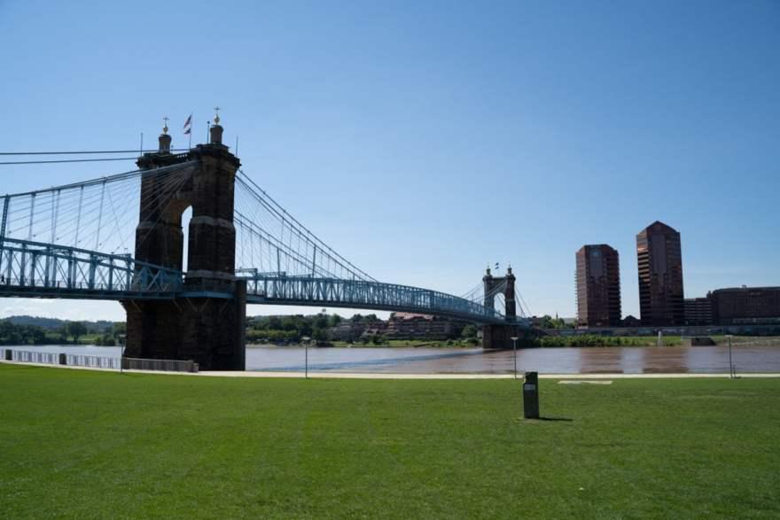 Bridge architecture Cincinnati