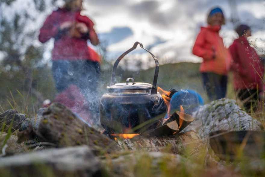 making fika in countryside